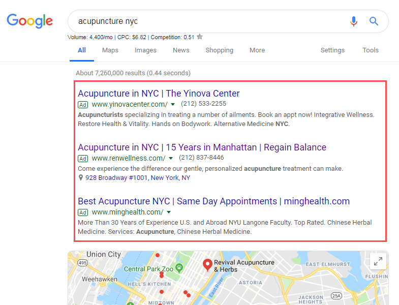 google-ads-for-acupuncture